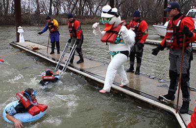 Louisville Polar Plunge - Duck