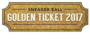 Sneaker Ball Golden Ticket