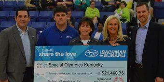 Bachman Share the Love Donation