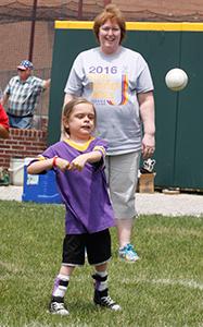 Summer Games Softball Throw