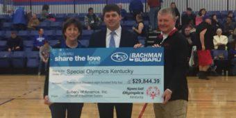 Bachman Subaru Donation