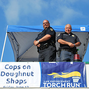 Cops on Doughnut Shops