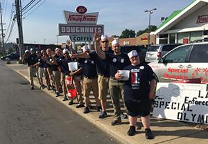 Law Enforcement Cops on Doughnut Shops