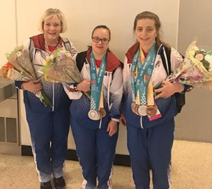 Mary Fehrenbach, Lee Dockins, Tonya Cornett - World Games Return