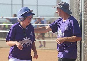 Special Olympics Softball